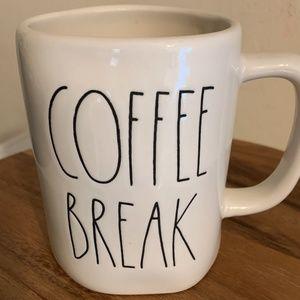 "Rae Dunn ""Coffee Break"" Mug"